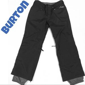 BURTON Men's Snowboard / ski pants black M (32-34)